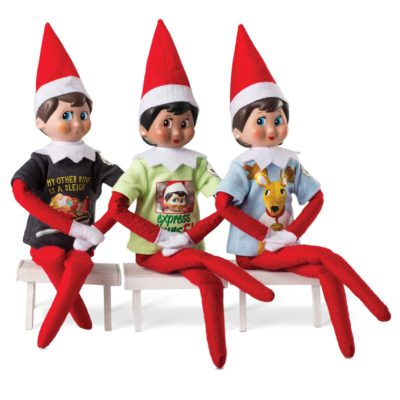 WIN ONE OF THREE ELF ON THE SHELF SETS, WORTH AED1500