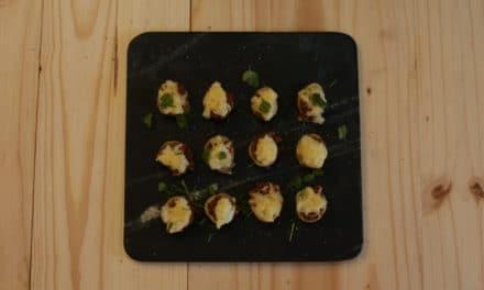 A British Classic – Mini Shepherds Pie Canapés