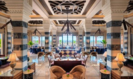 The fabulous Jumeirah Al Qasr Hotel