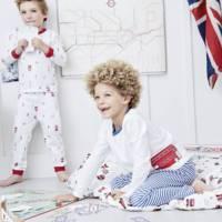 London Bus Stripe Pyjamas