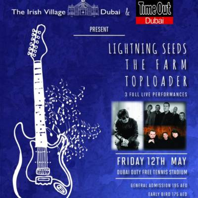 WIN! 2 PAIRS OF TICKETS TO SEE TOP LOADER, THE FARM & THE LIGHTNING SEEDS @ THE IRISH VILLAGE!
