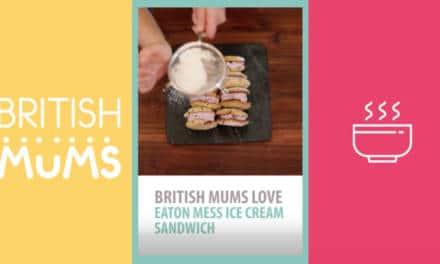 British Mums Love Eton Mess Sandwiches