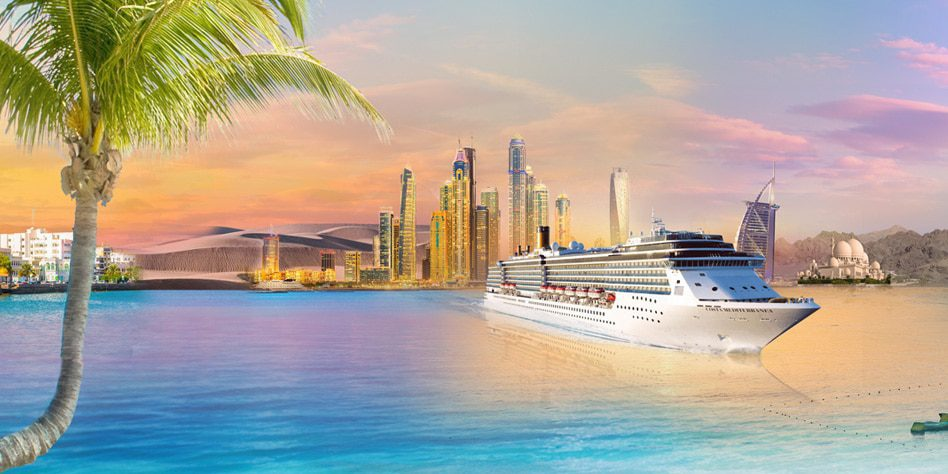 A 5 Night Cruise From AED 1,799 & Kids 2-12 Years From AED 999