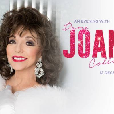 WIN 2 PAIRS OF PLATINUM TICKETS TO AN EVENING WITH DAME JOAN COLLINS AT DUBAI OPERA