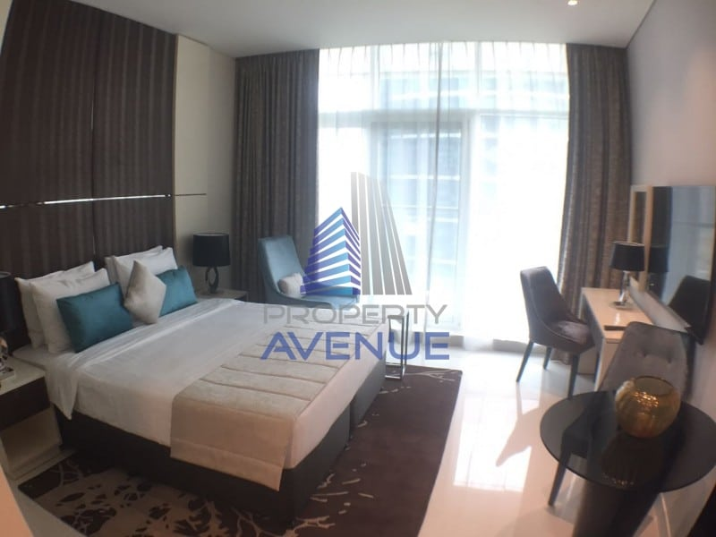 Furnished studio apartment in bays edge tower by damac maison in business bay full bay view - Maison edge aspen studio b ...