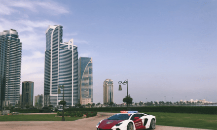 Now The Ministry of Interior Gets Their Own Aventador!