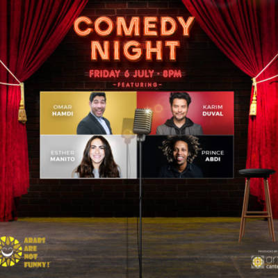 WIN ONE OF TWO PAIRS OF VIP TICKETS TO COMEDY NIGHT AT DUBAI OPERA PLUS PRE-SHOW DINNER AT SEAN CONNOLLY