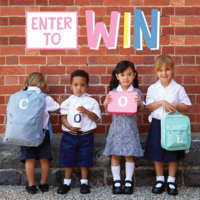 GET BACK TO SCHOOL READY WITH STUCK ON YOU – WIN 1 of 8 VOUCHERS WORTH AED250 EACH!