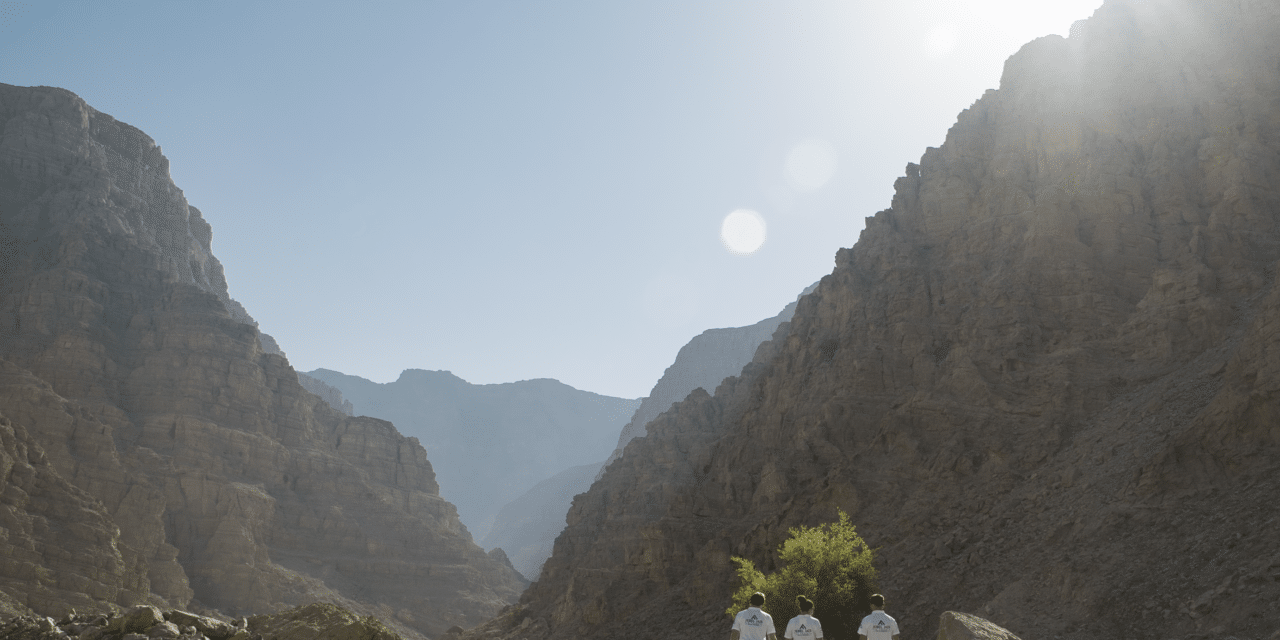 Via Ferrata -The Longest zip line in the UAE