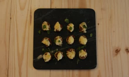 A British Classic – Mini Shepherds Pie Canapés