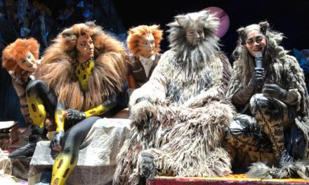 Behind the scenes of CATS at Dubai Opera