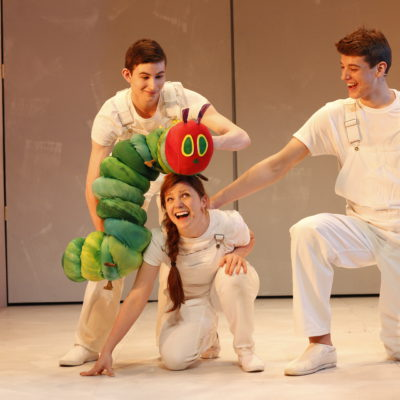 WIN A FAMILY TICKET TO THE VERY HUNGRY CATERPILLAR!