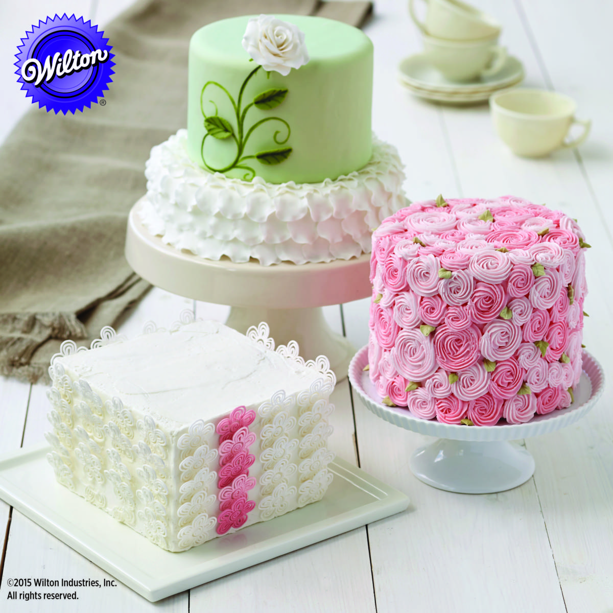 wilton wedding cake decorations win one of two wilton cake amp cupcake decorating courses 27515