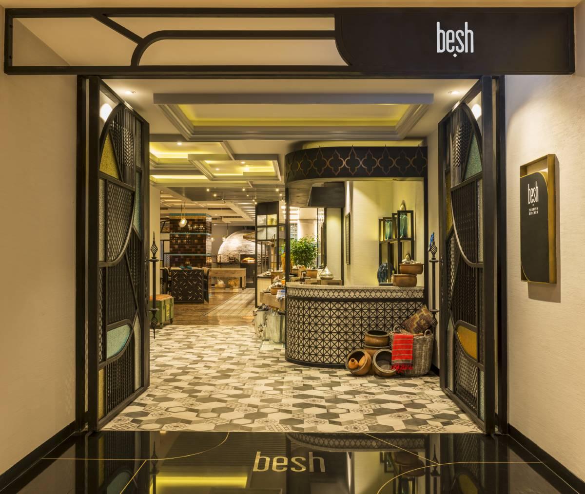 Besh Turkish Kitchen Entrance British Mums