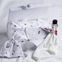 Little London Bear Baby Gift Set – Multi