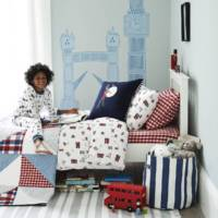 London Print Bed Linen