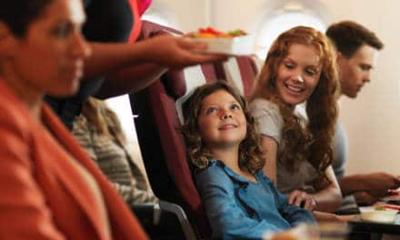 Qantas offer double daily family friendly flights from Dubai to London