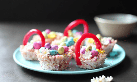 Make your own edible Easter Basket