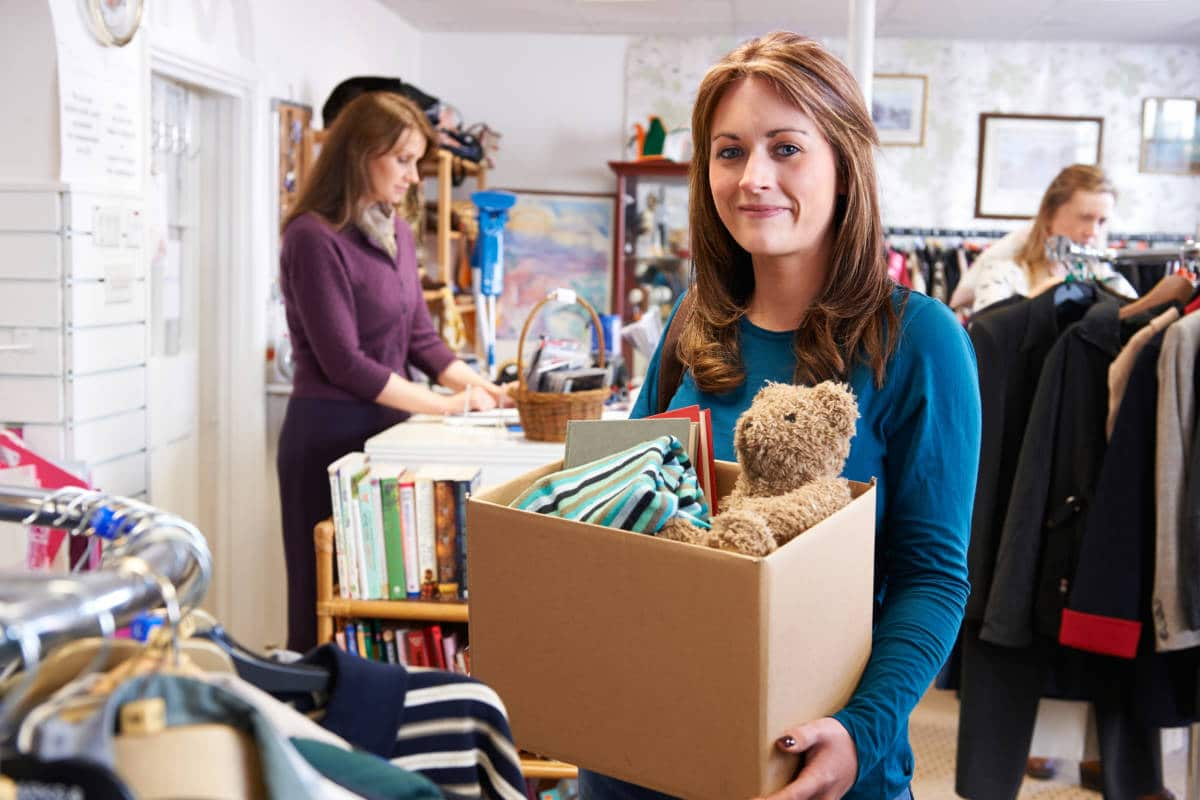 How To Donate Toys Clothes Furniture And Food To The