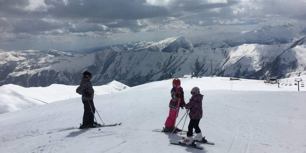 FAMILY HOLIDAYS ON A BUDGET -SKIING IN GEORGIA
