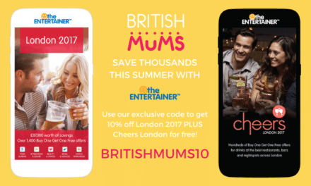 SAVE THOUSANDS WITH THE ENTERTAINER LONDON APP!