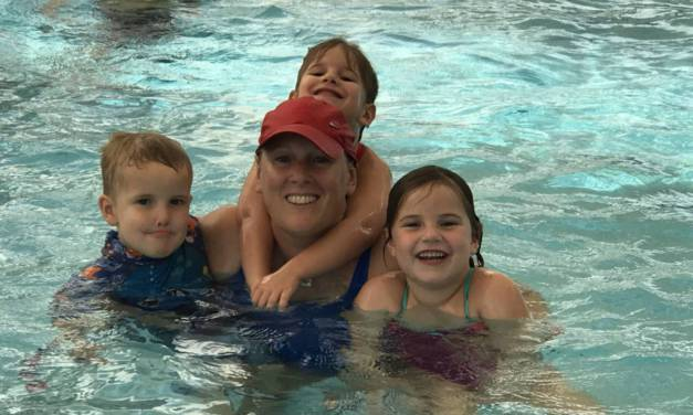 Meet British mum and Swim Coach Michelle Slade
