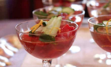 British Mums Love Strawberry Sorbet and Pimms Float