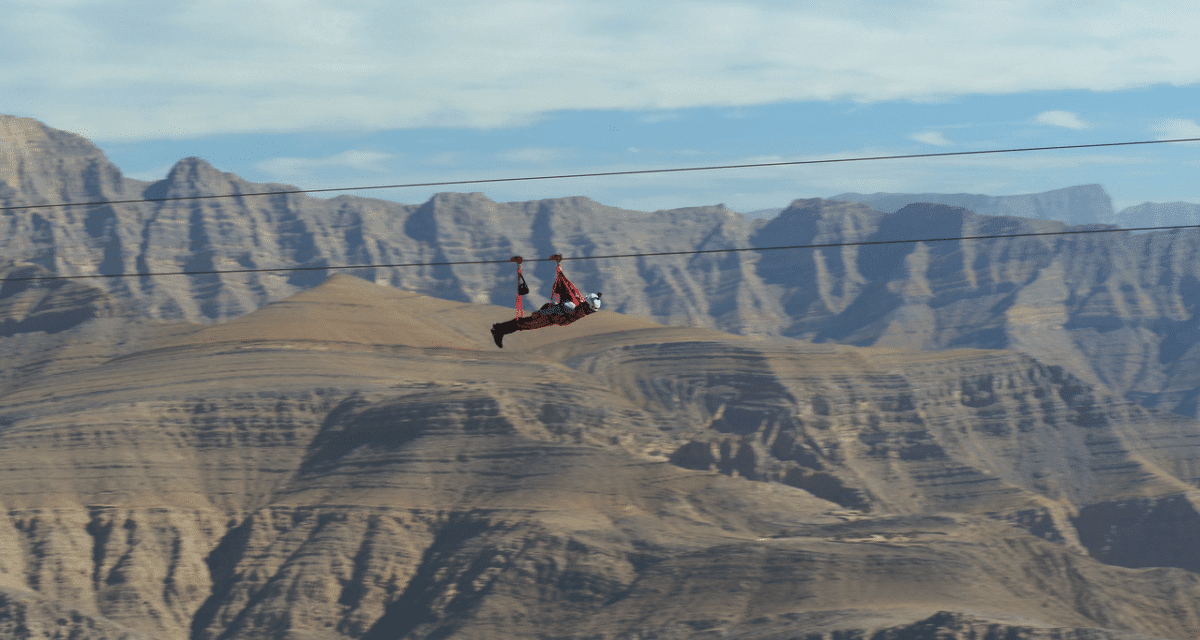 Here's Another New Zipline In RAK but this time it's BIGGER and BETTER!