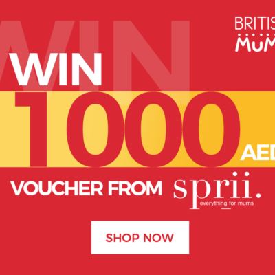 WIN A MASSIVE  AED1,000 TO SPEND AT SPRII