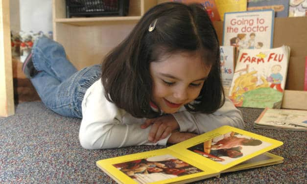 Encouraging reading and writing in your preschooler