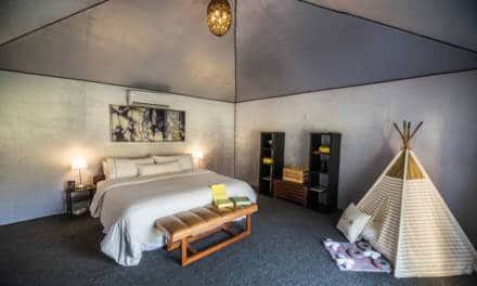 Family Glamping launches in Abu Dhabi – With Food Hampers Delivered Too!