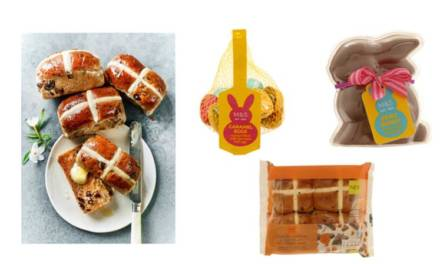 NEW EASTER TREATS HAVE JUST ARRIVED AT MARKS & SPENCER!