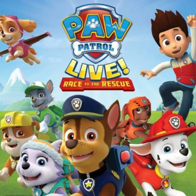WIN 4 GOLD AND SILVER TICKETS EACH TO SEE PAW PATROL LIVE AT DU FORUM!