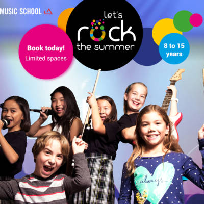 WIN ONE OF TWO PLACES AT MODERN MUSIC'S SUMMER CAMP – WORTH AED850 EACH!
