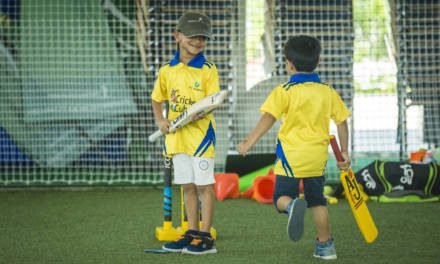 WIN A TERM ON THE ICCA JUNIOR CRICKET CLUB COACHING PROGRAM + DSC SCORE GOLD TIER MEMBERSHIP – WORTH AED1,575!