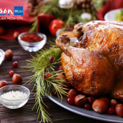 WIN A TURKEY TAKEAWAY WITH ALL THE TRIMMINGS & DESERT FROM RADISSON BLU, MEDIA CITY – WORTH AED900!