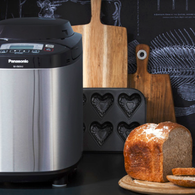 Win a Panasonic Automatic Breadmaker from Tavola. Includes a Free Bread Making workshop for two. Worth AED 1,364.00!