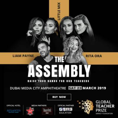 WIN SILVER TICKETS TO THE ASSEMBLY – A GLOBAL TEACHER PRIZE CONCERT!