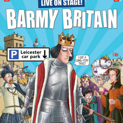 WIN TICKETS TO SEE HORRIBLE HISTORIES BARMY BRITAIN LIVE ON STAGE AT THE MADINAT THEATRE!