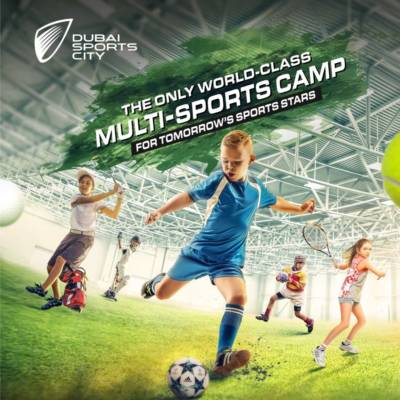 Win a two week Spring Camp with Dubai Sports City worth AED1,250!