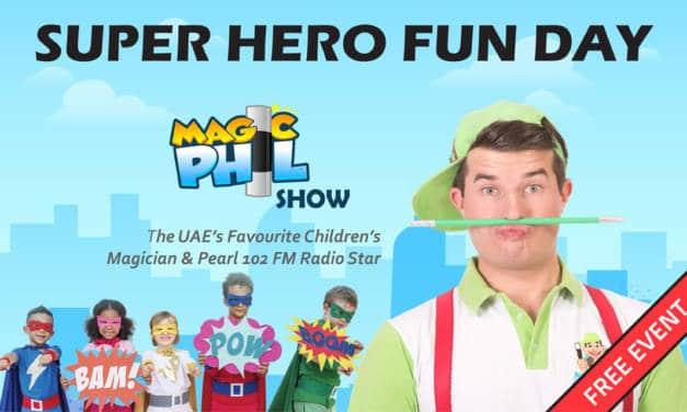 Super Hero Fun Day at Drs. Nicolas & Asp, in Springs Souk Center