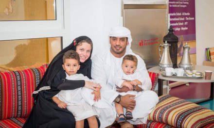 Meet British Mum Aimee Al Kaabi