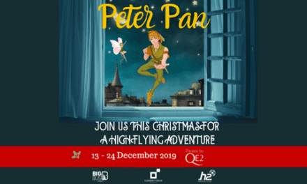 On the 4th Day of Christmas, British Mums gave to me… 4 pairs of tickets to see Peter Pan onboard the QE2!