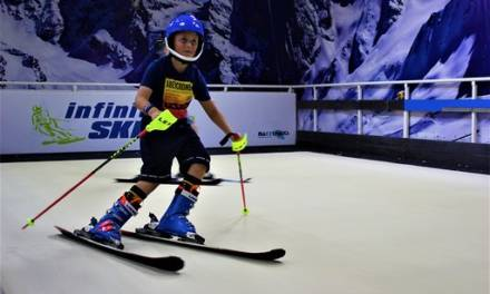 On the 6th Day of Christmas, British Mums gave to me… 6 taster and single sessions at Infinite SKI!