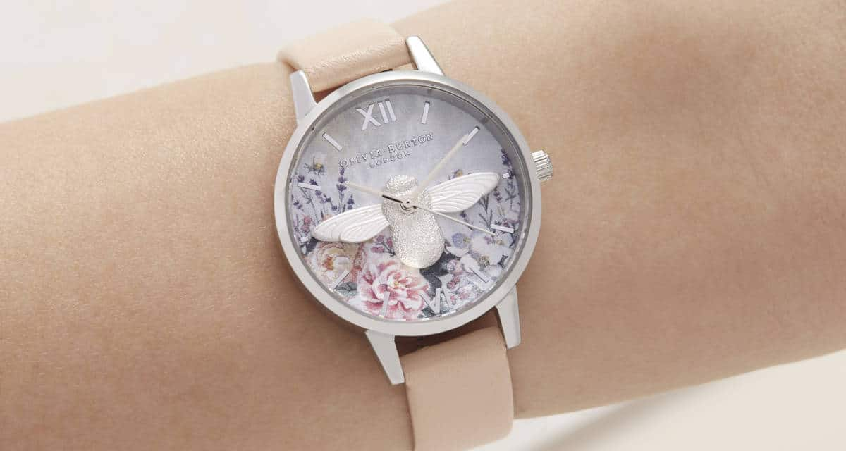 Olivia Burton leads the way in women's watch design