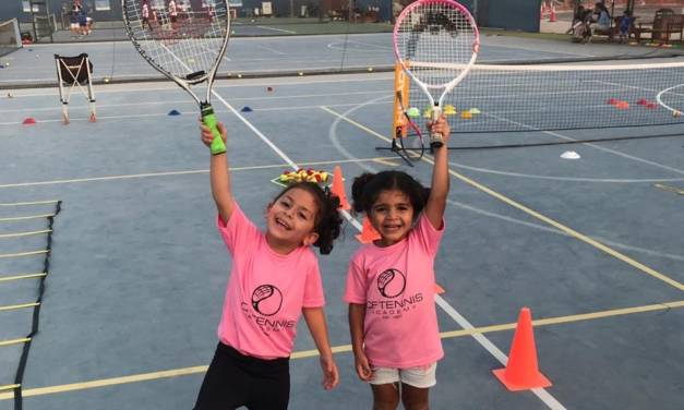 Develop or improve your tennis skill with CF Tennis Academy!