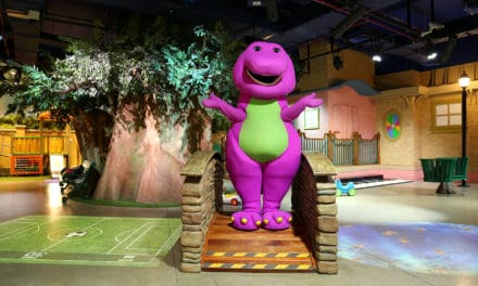 Afternoon Tea with Barney & Friends, exclusively at Mattel Play! Town