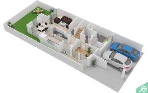 2D and 3D Floor Plans Bayut