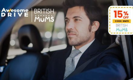 15% DISCOUNT FOR BRITISH MUMS WITH AWESOME DRIVE