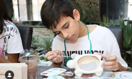 WIN AED 100 TO SPEND AT STEPUP CERAMIC CAFE!